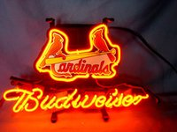 baseball beer game - ST LOUIS CARDINALS Baseball Beer Real Glass Neon Light Sign Home Beer Bar Pub Recreation Room Game Room Windows Garage Wall Sign