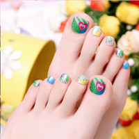 Wholesale 2016 hot design manicure sticker toe Nail wraps no water stickers for nails French polish art accessoires nailart decoration vinyls decals