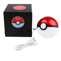 ball back pack - New Poke Go Power Bank Poke Ball Chargers mah pokeball back up chargers battery pack Phone Chargers