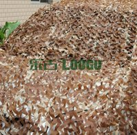 Wholesale LOOGU EM M M Desert Camo Netting Hunting Blinds Camping Army Military Camouflage Netting Outdoor Decoration Car Covering