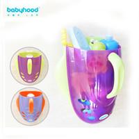 Wholesale Century baby bath toy storage basket containing Spoon Baby Bath Toy Storage Basket