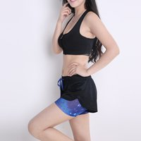 Wholesale B BANG Women Sport Running Shorts Summer Style Hollow Out Short Pants for Yoga Workout Fitness Casual Beach Shorts Colors