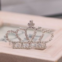 amazing queen - Amazing Cheap Only Bridal Tiaras Crowns Crystal Queen Wedding Jewelry Tiaras Hair Accessories For Evening Party Hot Sale