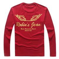best pullovers - 2016 RB T man M XL Bronzing mens long sleeved t shir best version wing printing pullover moleton Sweatshirts Real American year s T shirts