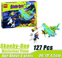 Wholesale Bela Scooby Doo Mummy Museum Mysterious Plane Minifigures Building Block Minifigure Toys Best Legoelieds Toys