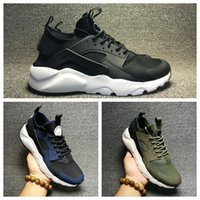 Wholesale 2017 New Arrival Air Huarache Ultra Running Shoes Famous Trainers Run Huaraches Sports Shoes Men And Women Athletic Huraches Sneakers