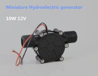 Wholesale New Arrival DC V DC Generator W Micro hydro Water Turbine Generator Water Pipeline Type Running water Generate Electricity