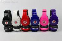 Cheap Wholesale-Super Bass B Stereo Wireless Bluetooth Headphones Music Player Headset Micro SD FM Earphone MP3 B Brand Headsets