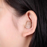 Wholesale Sound Amplifier Ear Aid Adjustable Tone Hearing Aid Deaf Aid Ear Volume Designed to Fit Either Ear Brand New
