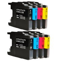 Wholesale 8 Compatible Brother LC1240 LC1280 Ink Cartridges for Brother MFC J430W MFC J5910DW MFC J625DW MFC J6510DW MFC J6710DW Printer