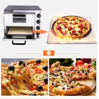 Wholesale electrical stainless steel home commercial thermometer double pizza oven mini baking oven bread cake toaster oven