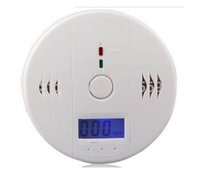 Wholesale CO Carbon Monoxide Detector Smoke Home Alarm Safety Gas Fire Poisoning Warning Alarm Sensor Battery operated Alert L