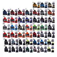 active strips - Retail Cheap Beanie beanies caps beanies with strips Sale Winter Knitted Hat For Men Women Caps Casual Skullies More Styles