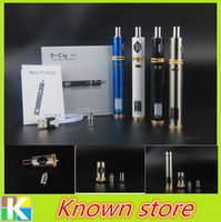 atc batteries - Original Mini TVR30 E go Cigarette ATC W mah With TC Huge E cig Starter Kit V Battery Miicro USB Charging