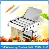 Wholesale Home style Stainless Steel Manual Pasta Maker Noodle Machine