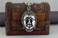 ancient buddha - Buddhism Buddha necklace stainless steel casting sakyamuni pendant religious restoring ancient ways gift good luck jewelry