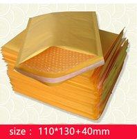 Wholesale mm Kraft Bubble Mailers Padded Envelopes Bags export bubble mailer poly Little gadgets Jiffy Lite Bag