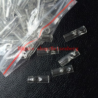 Wholesale High Quality Glass cigarette holder cut price pipe Smoke tool clear color lower price cut pieces smoke tool