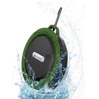 bathroom music player - C6 Waterproof Outdoor Bluetooth Speaker TF Wireless Music Loudspeaker Portable Speakers Shower Bicycle Speaker For Bike Bathroom