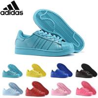 basketball junior - 14 Colors Adidas Originals Superstar White Hologram Iridescent Junior Superstars Sneakers Super Star Women Men Sport Running Shoes EUR36