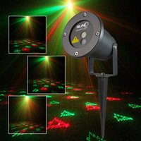Wholesale IP67 Outdoor Waterproof Laser Stage Light Elf Christmas Garden lights Firefly LED Floodlights Landscape Red Blue Projector Sky Star Lawn La