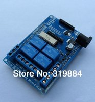 Wholesale Channel V Relay Shield board For Arduino A relay control xbee wireless module