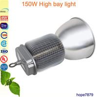 Wholesale Fin radiator w High Bay light Indoor stadium court led lighting warehouse workshop lamp years warranty Meanwell driver bridgelux
