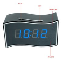 alarm iphone app - Free DHL P HD Wifi Network Spy Camera Alarm Clock Motion Activated Security DVR Support iPhone Android APP Remote View Degree Wide