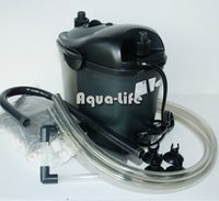 Wholesale RESUN CY W L H Cyclone Mini Aquarium External Canister Filter For L Fish Tank w Bags Filtration Media AC220 V