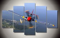 aircrafts pictures - Framed Printed mustang aircraft ps picture painting wall art children s room decor poster canvas