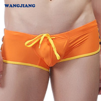 Wholesale Men s underwear men s swimsuits spa lace small boxers fashion swim trunks XP