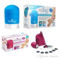 Wholesale Pedi Pro PediPro Deluxe Electric Callus Pedicure Pedi Foot File Hard Skin Remover Kit Set Personal Pedicure Bullet Pedipro