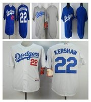 Wholesale Los Angeles Dodgers Jerseys blank Clayton Kershaw Jersey Los Angeles Dodgers Jerseys Size L XXXL