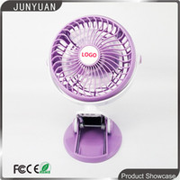 Wholesale Mini Portable Fan with USB rechargerable Lithium Battery Purple color convenient for outdoor DHL shipping JD198