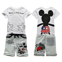 baby leggings set - 2016 new t shirt leggings pants baby kids suits fashion Boys clothing sets children clothes tops suit Clothing Sets