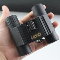 Wholesale mini folding binoculars X21 fishing telecope wolf zoom binoculars for kids telescopio binoculo luneta prismaticos DH167