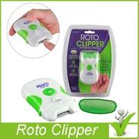 automatic nail - 2016 Roto Clipper Electric Nail Trimmer White Green automatic Nail clipper