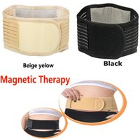 Wholesale Magnetic Therapy Slimming Belt Unisex Waist Back Support Massager Belt Backache Pain Health Care Acceories Tools HH B07