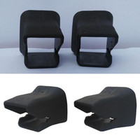 Wholesale 2Pcs Groove Fixed Car Baby Child Seat Buckle Guide Safety Black Universal