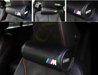 Para coches BMW M cuello cuello almohada Super suave de espuma de memoria Auto asiento de la tapa de la cabeza del cuello descansar el cojín de reposacabezas almohada M rendimiento