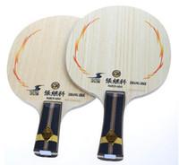 Wholesale Butterfly Zhang JIKE SUPER ZLC Table Tennis Racket Blade Carbon ping pong bat professional racket FL CS good elasticity ball type well free