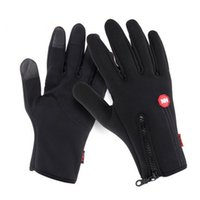 Wholesale New Arrived Women Men M L XL Ski Gloves Snowboard Gloves Motorcycle Riding Winter Touch Screen Snow Windstopper Glove