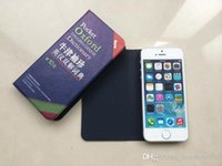 apple dictionary - New Universal case PU leather flip Phone case inch Pocket Oxford Dictionary Bulk Promotional