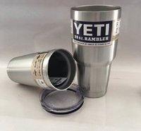 best large cars - Best quality Yeti Rambler Tumbler Stainless Steel Cup OZ Cups Cars Beer Mug Large Capacity Mug Tumblerful yeti coolers
