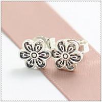 Cheap Floral Daisy Lace Earrings Best Earrings