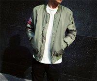 bat man suit - KANYE WEST YEEZUS MA1 jackets for men Hip Hop Sport Suit Parkas Winter Windbreak Jacket Men Coat