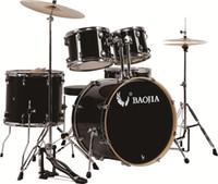 Wholesale Drum set BJ2225 PVC Piece Adult Drum Set Birch Chrome