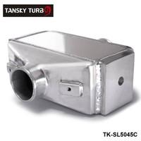 Wholesale TANSKY quot x11 quot X4 quot Air to Water Intercooler A W IC quot in out Liquid Aluminum I O quot TK SL5045C