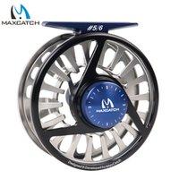 aluminium disc - Maximumcatch WT Fly Reel Machined Aluminium Micro Adjusting Drag Fly Fishing Reel with Teflon disc drag system