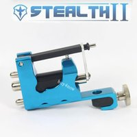 aluminum liner - Hot Sale Color Stealth II Rotary Tattoo Machine Aluminum Strong Consistent Shader or Liner Tattoo Machine